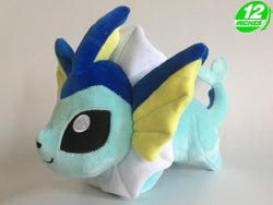 Pokemon Chibi Vaporeon Plush Doll