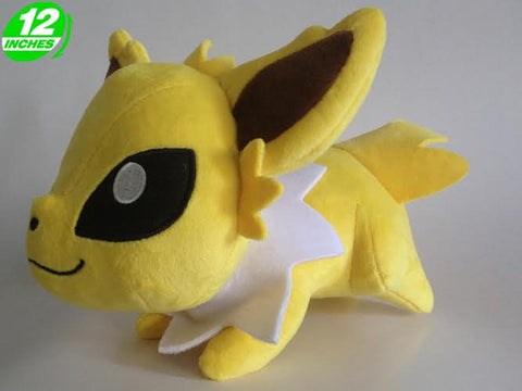 Jolteon Chibi Plush Doll - Super Anime Store FREE SHIPPING FAST SHIPPING USA