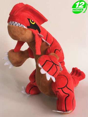 Groudon #2 Plush Doll - Super Anime Store FREE SHIPPING FAST SHIPPING USA