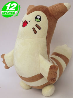 Pokemon Furret Plush Doll 12 Inches