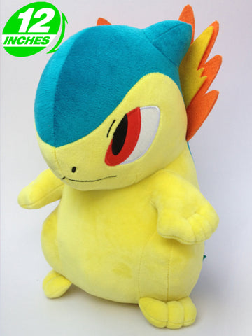 Typhlosion Chibi Plush Doll 12 Inches - Super Anime Store FREE SHIPPING FAST SHIPPING USA