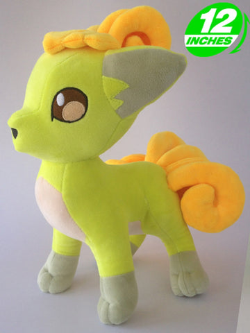 Shiny Vulpix Plush Doll - Super Anime Store FREE SHIPPING FAST SHIPPING USA