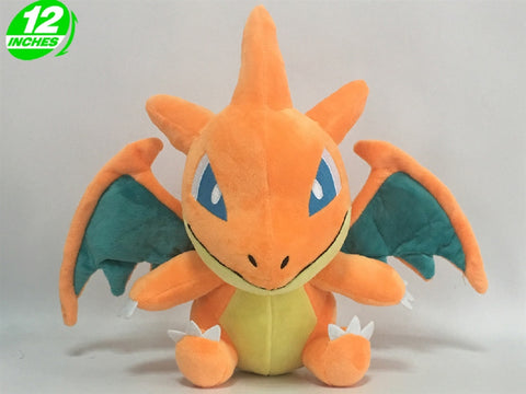 Super Anime Store Pokemon Mega Charizard Y Chibi Plush Doll