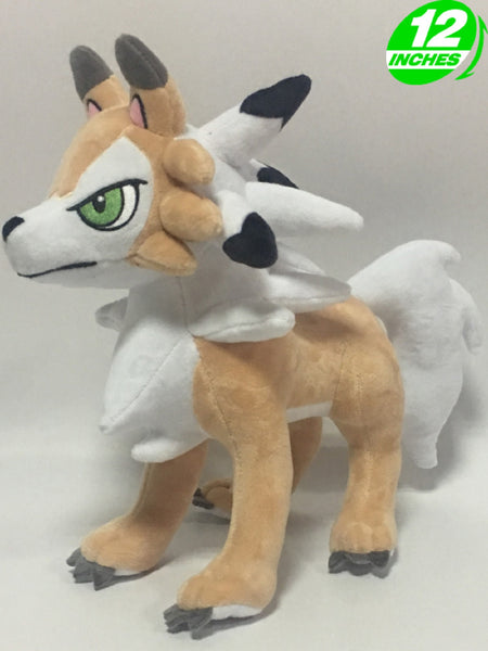 Pokemon Lycanroc Plush Doll Super Anime Store
