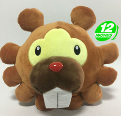 Pokemon Bidoof Plush Doll Super Anime Store