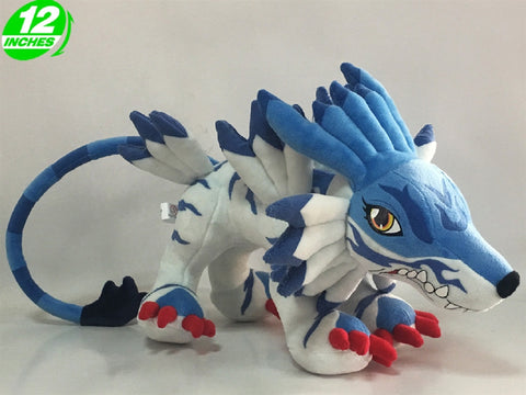 Digimon Adventures Garurumon Plush Doll - Super Anime Store FREE SHIPPING FAST SHIPPING USA