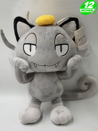 Pokemon Alolan Meowth Plush Doll Super Anime Store
