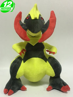 Pokemon Haxorus Plush Doll Super Anime Store