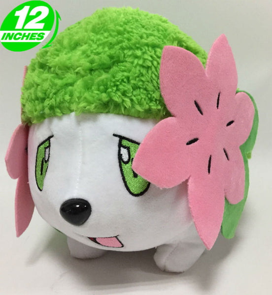 Pokemon Shaymin Chibi Plush Doll - Super Anime Store FREE SHIPPING FAST SHIPPING USA