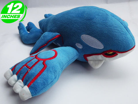 Kyogre Plush Doll 12 Inches - Super Anime Store FREE SHIPPING FAST SHIPPING USA