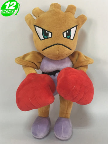 Hitmonchan Plush Doll - Super Anime Store FREE SHIPPING FAST SHIPPING USA