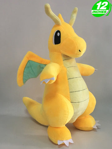 Dragonite Plush Doll - Super Anime Store FREE SHIPPING FAST SHIPPING USA