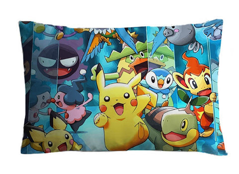 Pikachu Group Pillow - Super Anime Store FREE SHIPPING FAST SHIPPING USA