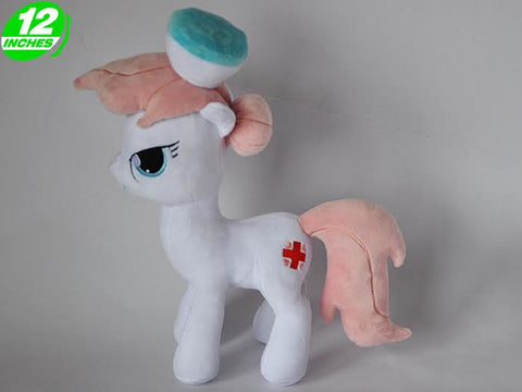 My Little Pony Nurse Redheart Plush Doll - Super Anime Store FREE SHIPPING FAST SHIPPING USA