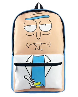 Super Anime Store Rick And Morty Backpack Bag