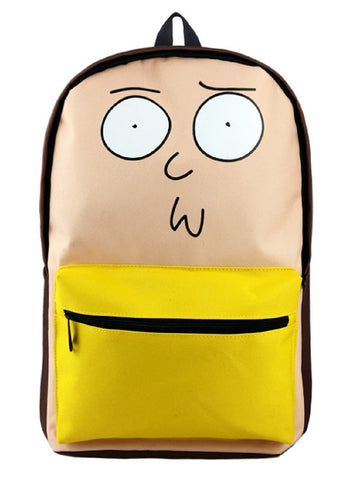 Rick and Morty Backpack Bag