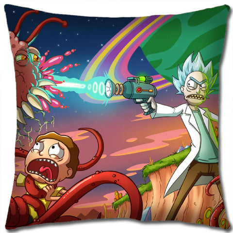 Super Anime Store Rick and Morty Pillow