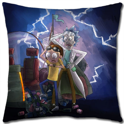 Rick and Morty Pillow - Super Anime Store FREE SHIPPING FAST SHIPPING USA