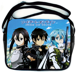 Sword Art Online Kirito Messenger Bag - Super Anime Store FREE SHIPPING FAST SHIPPING USA