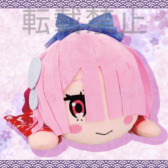 Re:Zero Mej Nesoberi Plush Doll Ram Nagomi Super Anime Store