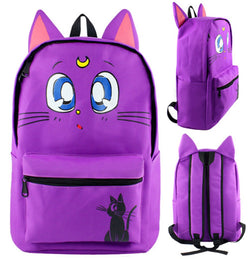 Sailor Moon Luna Backpack Bag - Super Anime Store FREE SHIPPING FAST SHIPPING USA