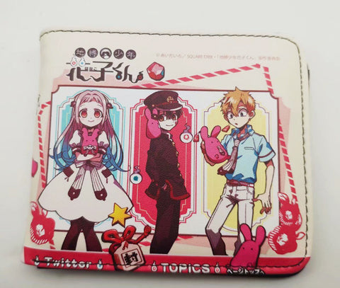 Toilet Bound Hanako Kun Wallet - Super Anime Store FREE SHIPPING FAST SHIPPING USA