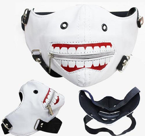 Tokyo Ghoul Cosplay White Cosplay Mask - Super Anime Store FREE SHIPPING FAST SHIPPING USA