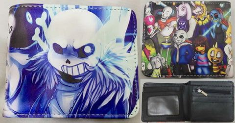 Undertale Group Wallet - Super Anime Store FREE SHIPPING FAST SHIPPING USA