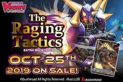 English Edition Cardfight!! Vanguard Extra Booster 09: The Raging Tactics Super Anime Store
