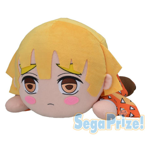 "Sega Demon Slayer (Kimetsu no Yaiba) Zenitsu Agatsuma MEJ Nesoberi Plush, 15.7"" Super Anime Store"