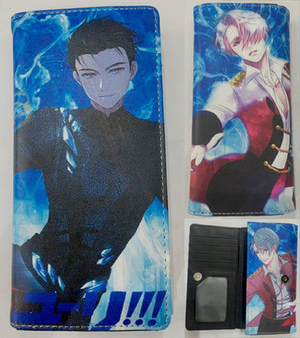 Yuri On Ice Big Wallet - Super Anime Store FREE SHIPPING FAST SHIPPING USA