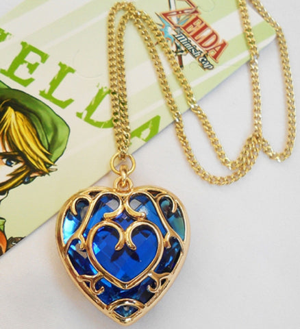 The Legend of Zelda Heart Necklace - Super Anime Store FREE SHIPPING FAST SHIPPING USA