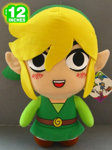 Zelda Link Plush 12 Inches - Super Anime Store FREE SHIPPING FAST SHIPPING USA