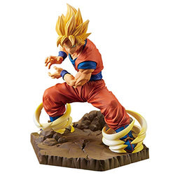 Banpresto Dragon Ball Z Absolute Perfection Figure Son Goku Figure - Super Anime Store FREE SHIPPING FAST SHIPPING USA