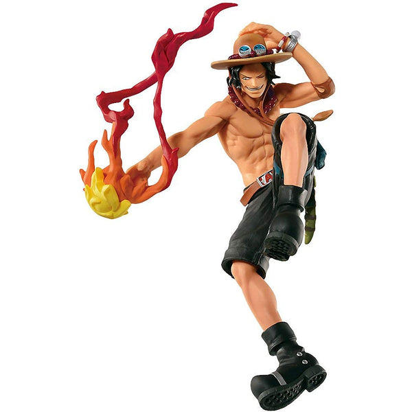 One Piece Scultures Colosseum VI Portgas D. Ace Figure Super Anime Store