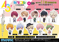 Act! Addict! Actors! A3 A Box Keychain Random Box - Super Anime Store FREE SHIPPING FAST SHIPPING USA