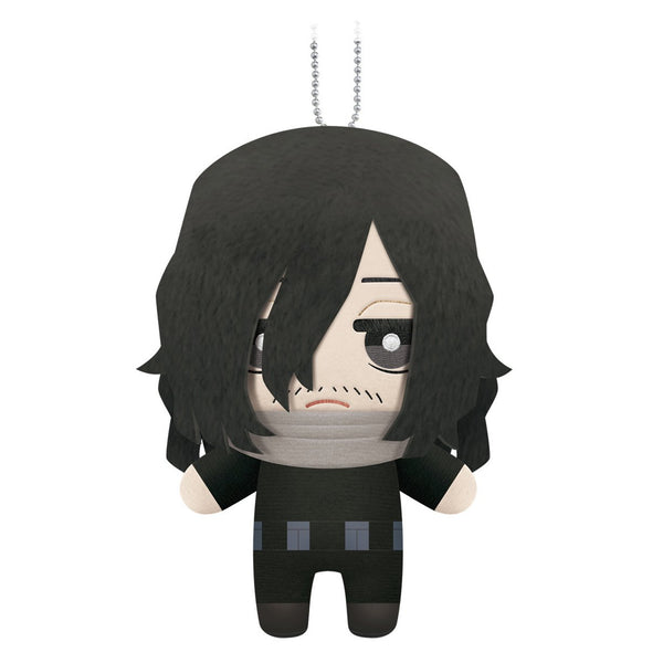 "Little Buddy My Hero Academia Shota Aizawa Plush Dangler 6"""" - Super Anime Store FREE SHIPPING FAST SHIPPING USA"