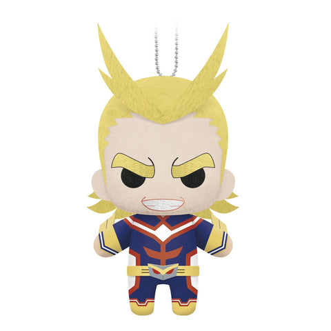 "Little Buddy My Hero Academia All Might Plush Dangler 6"" - Super Anime Store FREE SHIPPING FAST SHIPPING USA"
