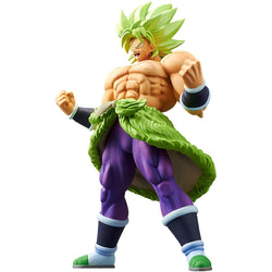 Banpresto Super Saiyan Broly Full Power: Dragonball Super Broly x Cyokoku Buyuden Figure - Super Anime Store FREE SHIPPING FAST SHIPPING USA