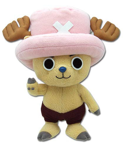 "Great Eastern One Piece 8"" Tony Tony Chopper Plush Doll - Super Anime Store FREE SHIPPING FAST SHIPPING USA"