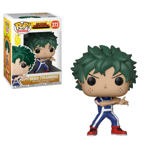 Funko POP 371 Anime: My Hero Academia Deku (Training) Figure Super Anime Store