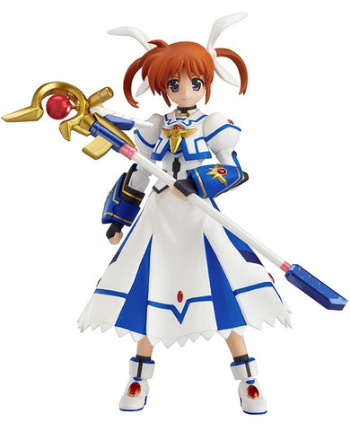 "Max Factory Magical Girl Lyrical Nanoha: Nanoha Takamachi ""Sacred Mode"" Figma 159 Action Figure - Super Anime Store FREE SHIPPING FAST SHIPPING USA"
