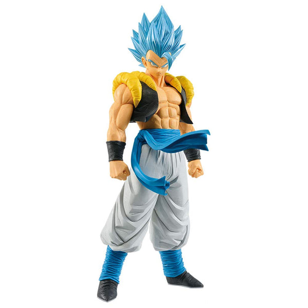 Banpresto Dragon Ball Super Grandista Resolution of Soldiers Super Saiyan God Gogeta Figure - Super Anime Store FREE SHIPPING FAST SHIPPING USA