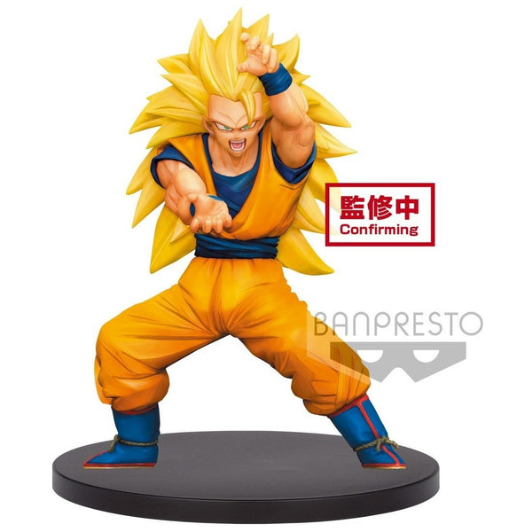 Dragon Ball Super Chosenshiretsuden Vol. 4 Super Saiyan 3 Son Goku Figure - Super Anime Store FREE SHIPPING FAST SHIPPING USA