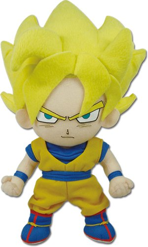 Great Eastern Dragon Ball Z Goku Super Saiyan Plush Doll - Super Anime Store FREE SHIPPING FAST SHIPPING USA