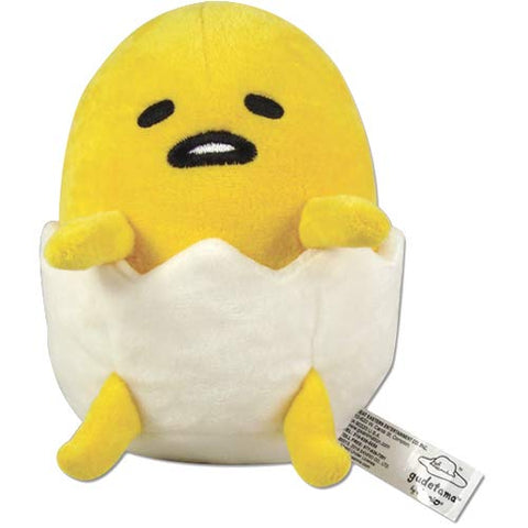 "Great Eastern Gudetama Egg Plush Doll  6"" - Super Anime Store FREE SHIPPING FAST SHIPPING USA"