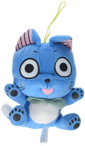 Great Eastern Animation Fairy Tail Small Sitting Happy Plush Doll - Super Anime Store FREE SHIPPING FAST SHIPPING USA