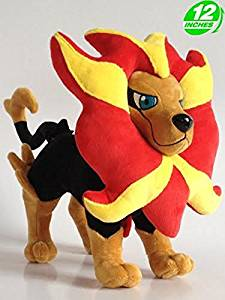 Super Anime Store Anime Pokemon Pyroar Plush Doll 12''