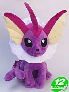 Shiny Vaporeon Plush Doll 12'' - Super Anime Store FREE SHIPPING FAST SHIPPING USA