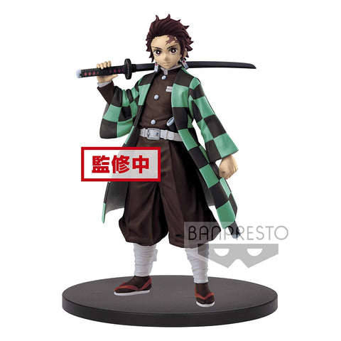 Demon Slayer Tanjiro Kamado Banpresto Figure - Super Anime Store FREE SHIPPING FAST SHIPPING USA